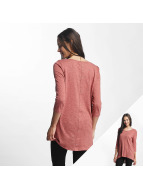 Only Camiseta de manga larga onlCasa rosa