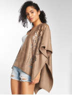 Only Cardigan onlDita Poncho brown