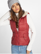 Only Gilet onlPeyton Sherpa rosso