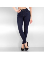 Only High Waisted Jeans onlPiper blauw