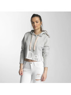 Only Hoodie onlHana Cropped grey