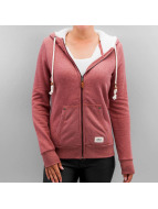 Only Hoodies con zip onlVada rosso