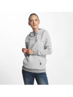 Only onlSandra Stripe Hoody Light Grey Melange