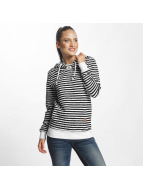 Only onlSandra Stripe Hoody Black