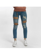 Only Jeans Straight Fit onlJulie Slim Ankle bleu