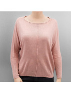Only OnlCosy Boatneck Pullover Rose Dawn