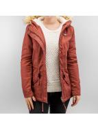 Only Kış ceketleri onlLorca kırmızı