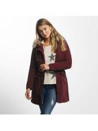 Only Kış ceketleri onlStarlight kırmızı