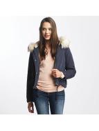 Only Kış ceketleri onlSkylar Fur Parka mavi