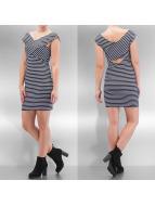 Only Kleid onlDaria Wrap blau