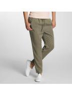Only Kumaş pantolonlar onlPoptrash Easy Woven yeşil