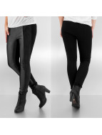 Only Leggings Freda Pu Mixed noir