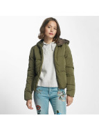 Only Lightweight Jacket onlCille Quilted khaki