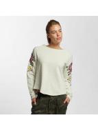 Only Maglia onlDarma Flower Embroidery beige