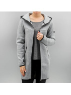 Only Mantel onlLilo Long Hood grau