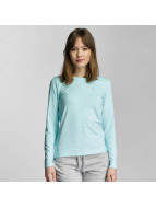Only Play Longsleeve onpClaire Plain blauw