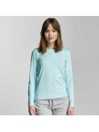 Only Play T-Shirt manches longues onpClaire Plain bleu