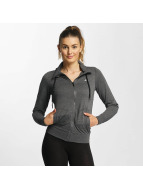 Only Play onpLina High Neck Zipper Jacket Dark Grey Melange