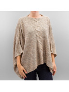Only Pullover onlAustin Poncho beige