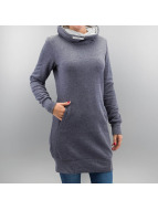 Only Pullover onlBetty Long Highneck blau