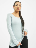 Only Pullover onlMila Lacy Long blau