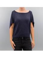 Only Pullover onlKareen 3/4 Oversize bleu