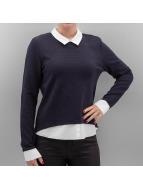 Only Pullover onlCarmen bleu