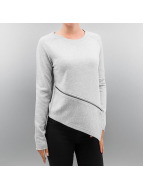 Only Pullover onlWhipper Asymmetric grau