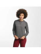 Only onlLotus O-Neck Sweatshirt Dark Grey Melange