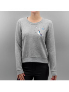 Only Pullover onlLove Me Unicorn gris