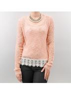 Only Pullover Vanessa Short rose
