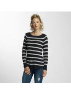 Only Pullover onlTappy Stripe weiß