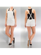 Only Shorts Inesz Dungarees blanc