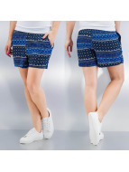 Only Shorts onlNova Ditsy blau