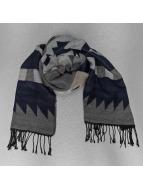 Only sjaal onlSheena Weaved blauw