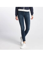 Only onlCoral Skinny Jeans Dark Blue Denim