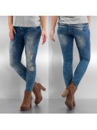 Only Skinny jeans onlCoral Low Waist Skinny Ankle Denim blauw