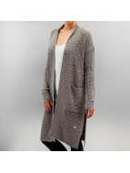 Only Strickjacke onlNew Emma Open grau