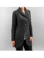Only Strickjacke onlNew Rami Long Button grau