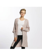 Only Strickjacke onlKendra Open Knit rosa