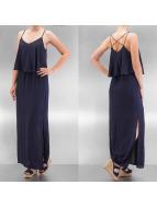 Only Sukienki onlMojo Solid Strap Maxi niebieski