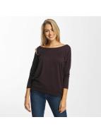 Only onlElcos 4/5 Solid Sweatshirt Fudge