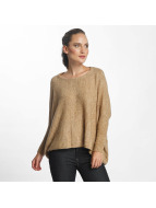 Only onlMeredith 7/8 Oversize Sweatshirt Indian Tan