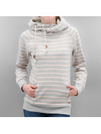 Only Sweat à capuche onlAtina Jalene Stripe gris