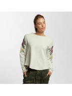 Only Sweat & Pull onlDarma Flower Embroidery beige