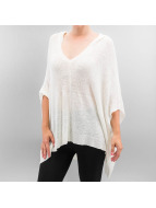 Only Sweat & Pull onlAnni Poncho blanc