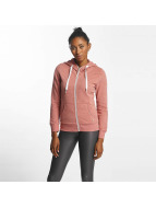 Only Sweat capuche zippé onlCoolie rose