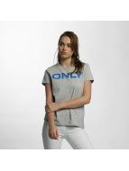 Only T-paidat onlLive Love Trendy harmaa