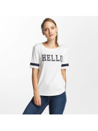 Only T-Shirt onlMia Hello blanc