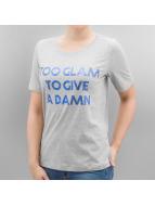 Only t-shirt onlFoil Print grijs